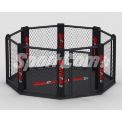 MMA cage with platform